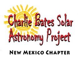 Charlie Bates Solar Astronomy Project at www.solarastronomy.org