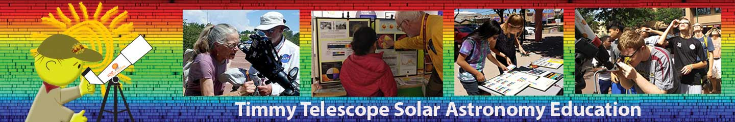 Timmy Telescope Solar Astronomy Education